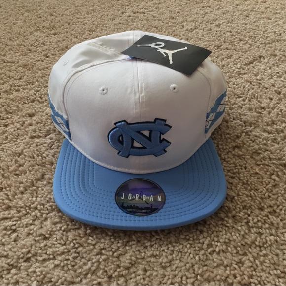 d782bbff16e527 NEW Jordan Brand UNC Tar Heels Snapback Hat